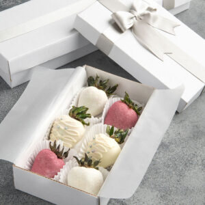 Fresas decoradas x 6 und