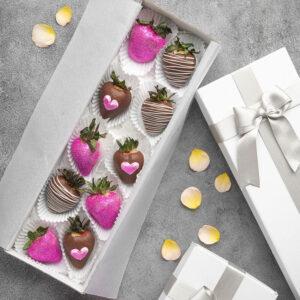 Fresas decoradas x 10 und