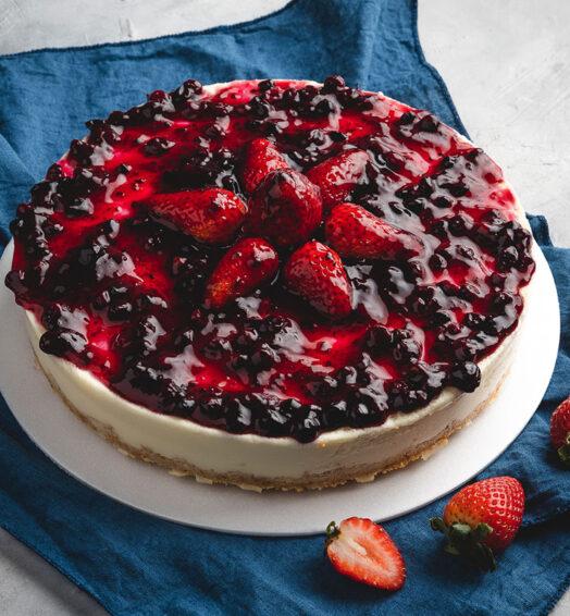 Cheesecake Frutos Rojos
